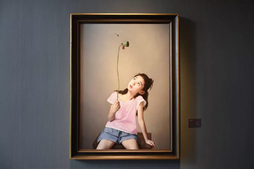 35年专注画青春美少女,最贵画作卖708万插图29