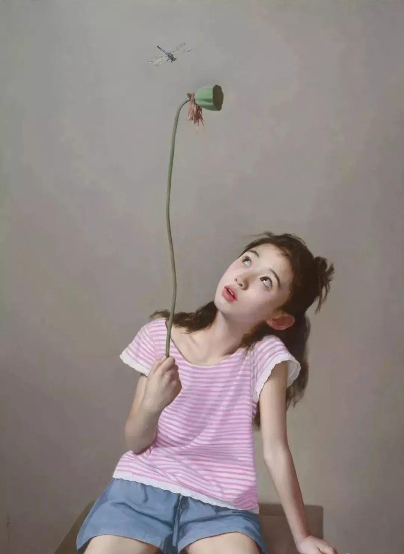 35年专注画青春美少女,最贵画作卖708万插图31