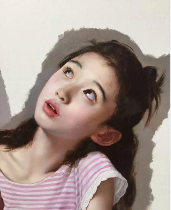 35年专注画青春美少女,最贵画作卖708万插图35