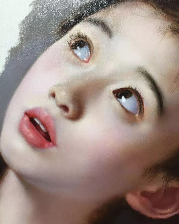 35年专注画青春美少女,最贵画作卖708万插图37