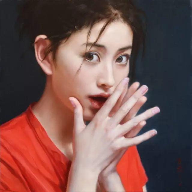 35年专注画青春美少女,最贵画作卖708万插图55