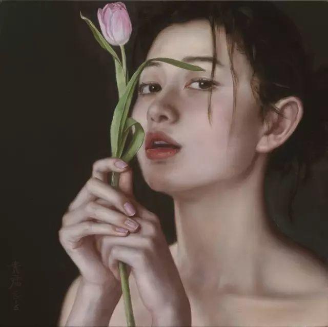 35年专注画青春美少女,最贵画作卖708万插图57