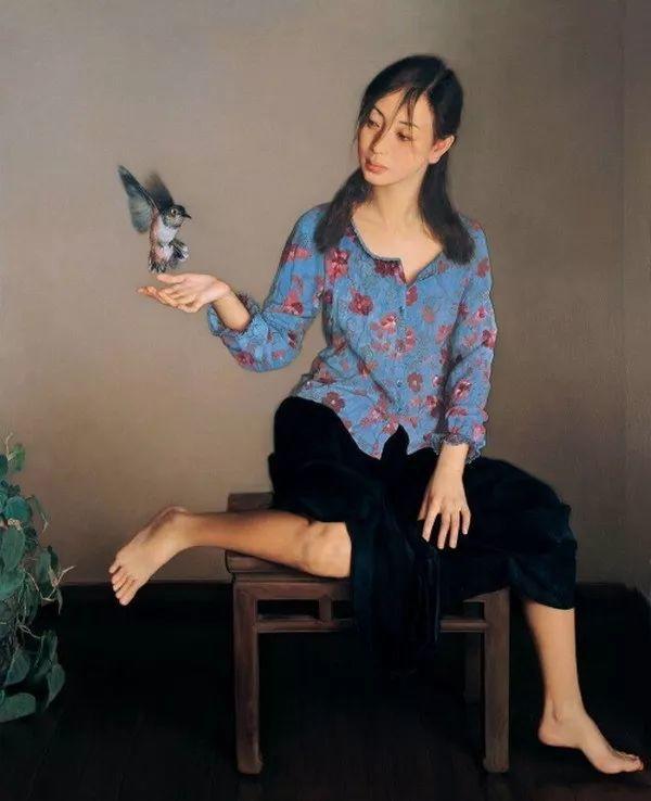 35年专注画青春美少女,最贵画作卖708万插图73
