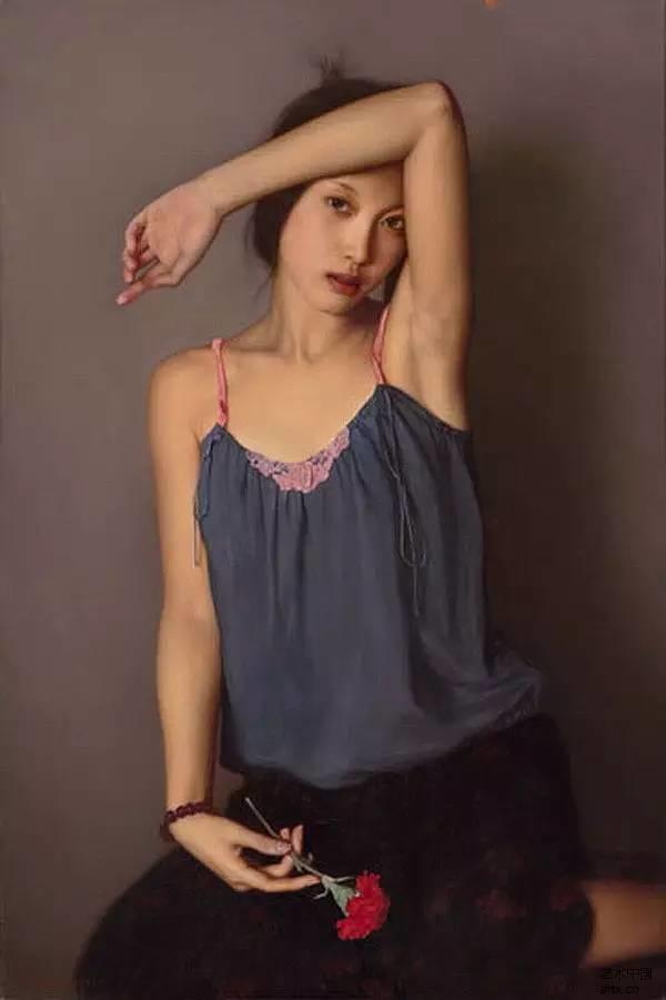 35年专注画青春美少女,最贵画作卖708万插图75