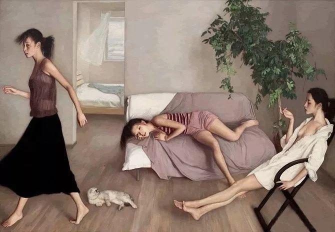 35年专注画青春美少女,最贵画作卖708万插图79