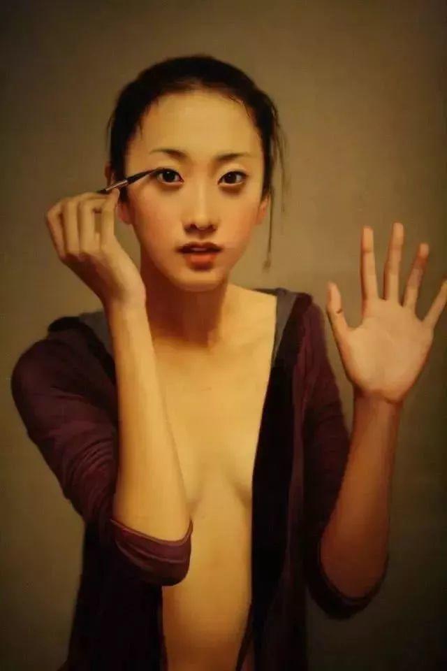 35年专注画青春美少女,最贵画作卖708万插图97