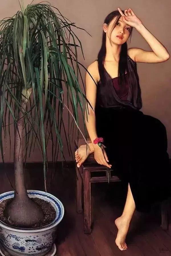 35年专注画青春美少女,最贵画作卖708万插图101