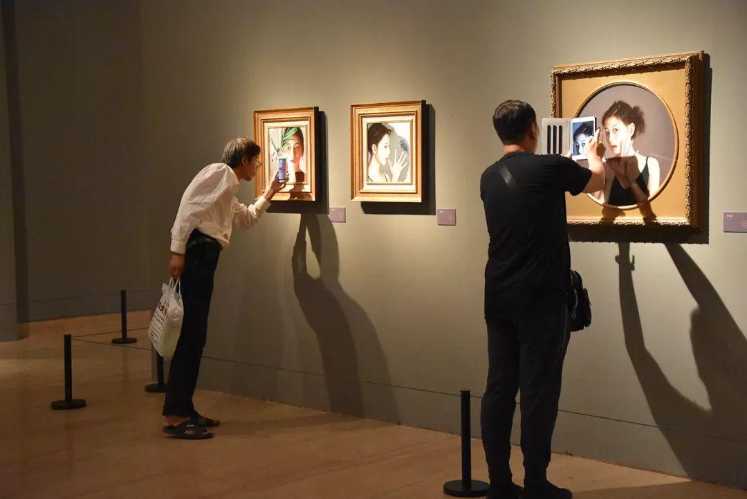35年专注画青春美少女,最贵画作卖708万插图109