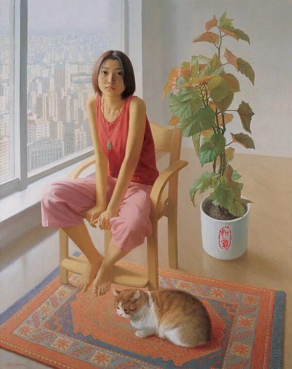 35年专注画青春美少女,最贵画作卖708万插图119