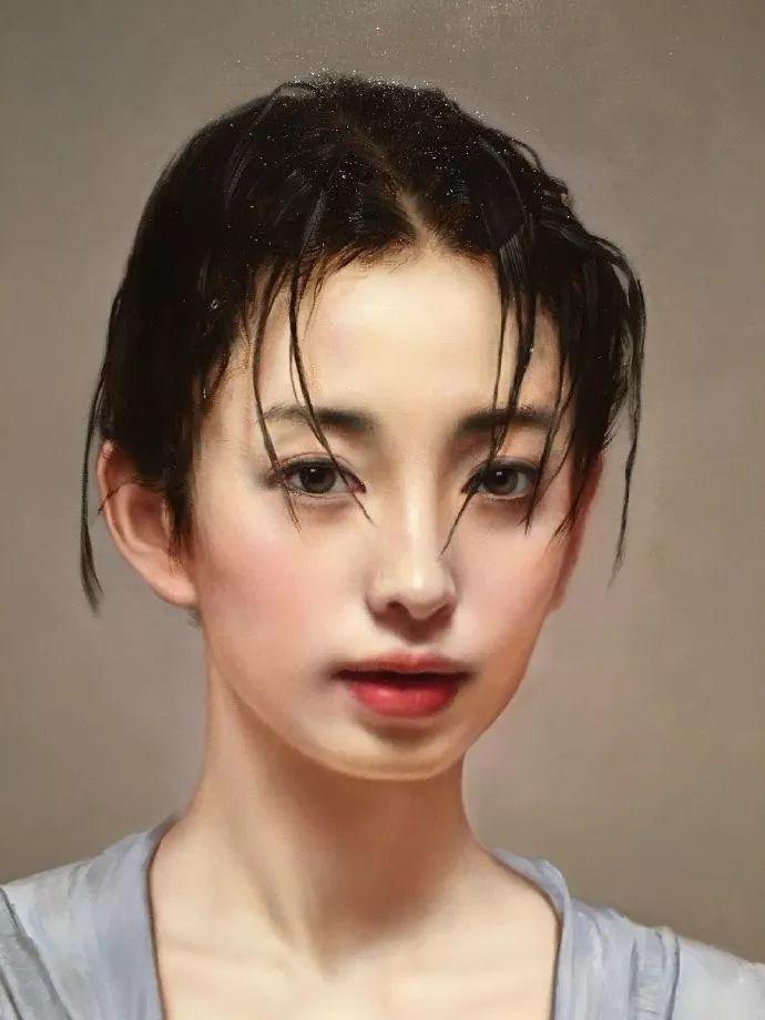 35年专注画青春美少女,最贵画作卖708万插图133
