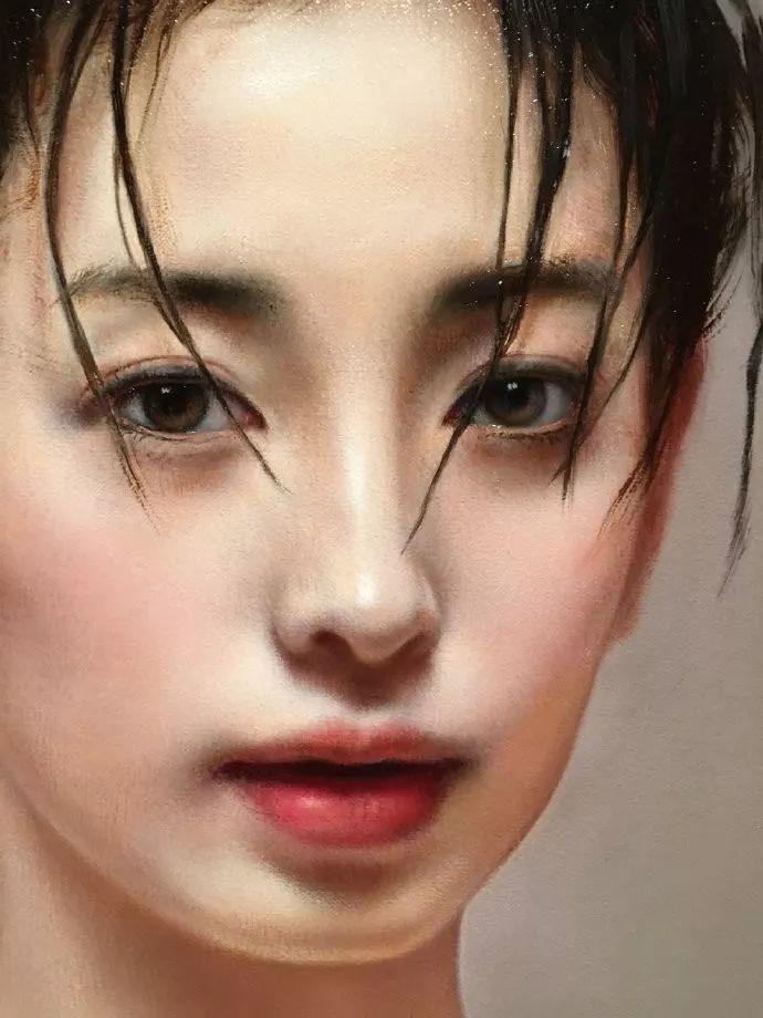 35年专注画青春美少女,最贵画作卖708万插图141