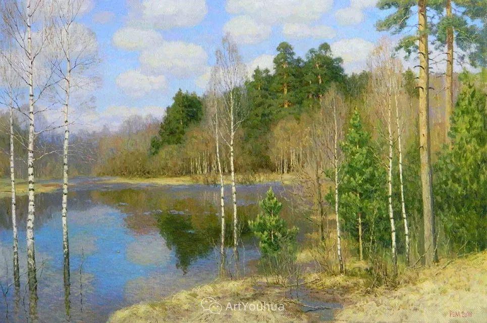 风景油画 俄罗斯画家Rem Saifulmulukov插图9