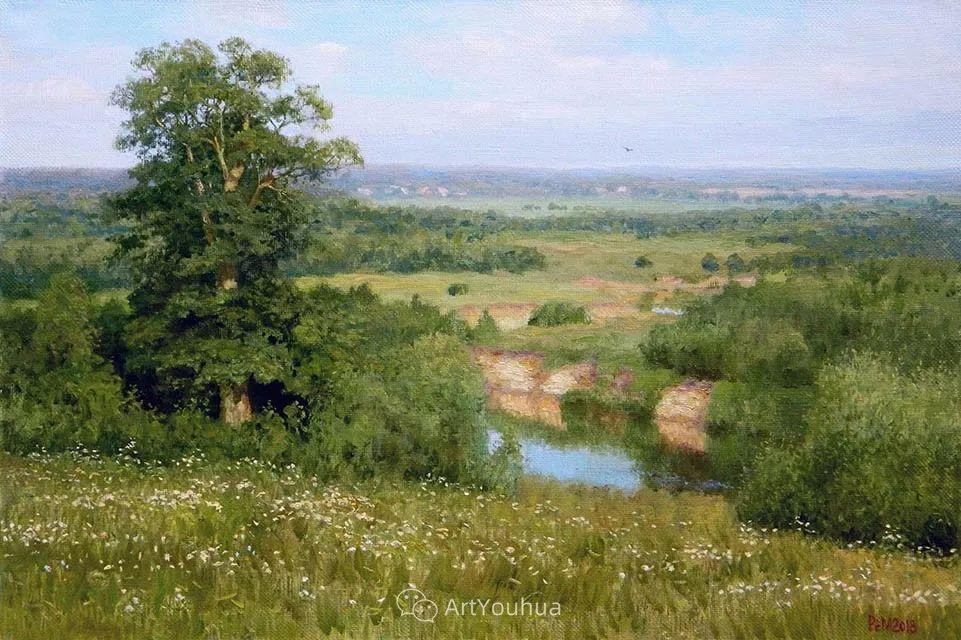 风景油画 俄罗斯画家Rem Saifulmulukov插图11
