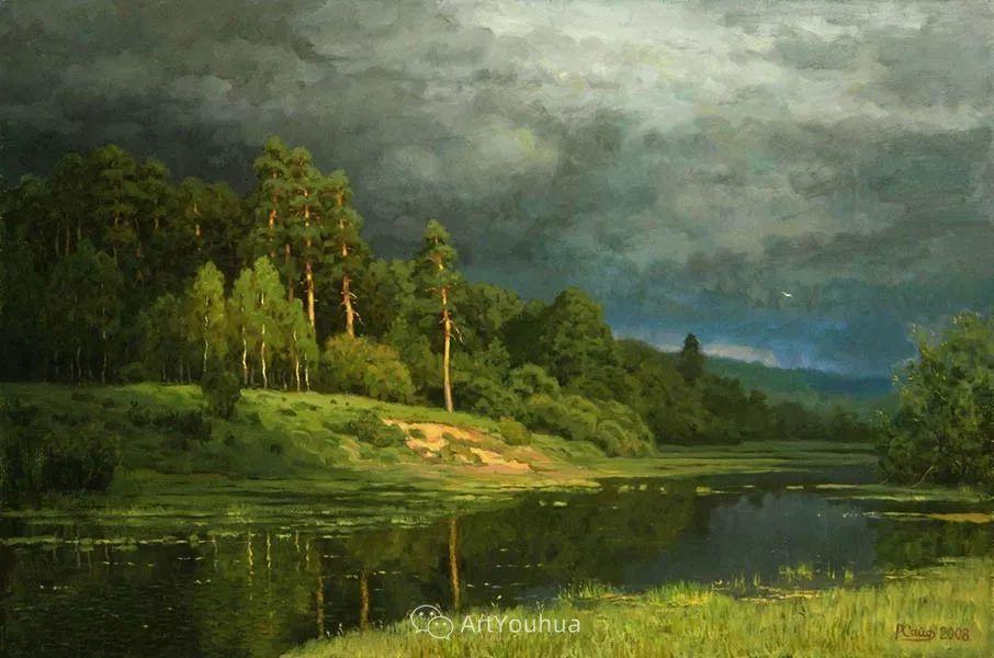 风景油画 俄罗斯画家Rem Saifulmulukov插图19