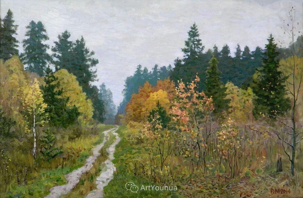 风景油画 俄罗斯画家Rem Saifulmulukov插图29
