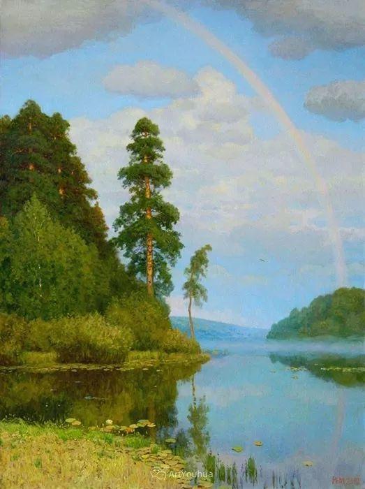 风景油画 俄罗斯画家Rem Saifulmulukov插图31