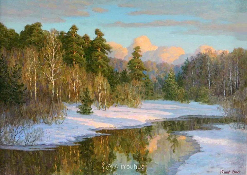 风景油画 俄罗斯画家Rem Saifulmulukov插图43