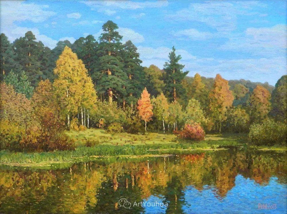 风景油画 俄罗斯画家Rem Saifulmulukov插图45
