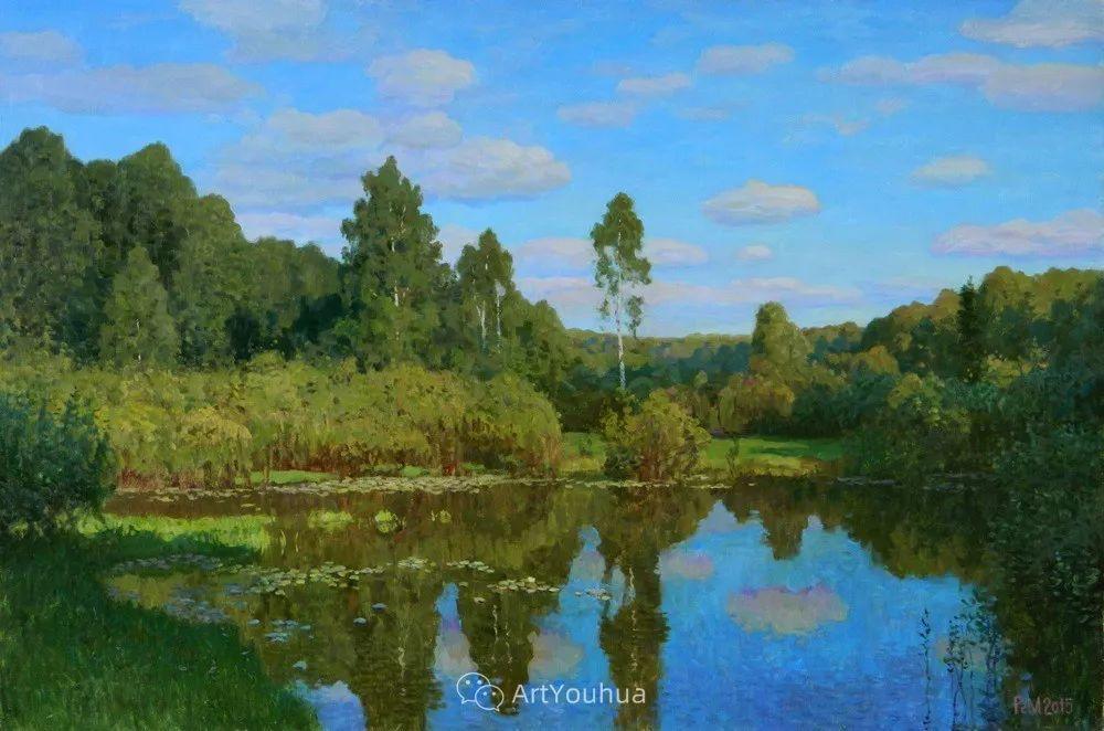 风景油画 俄罗斯画家Rem Saifulmulukov插图47