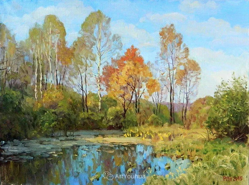 风景油画 俄罗斯画家Rem Saifulmulukov插图57