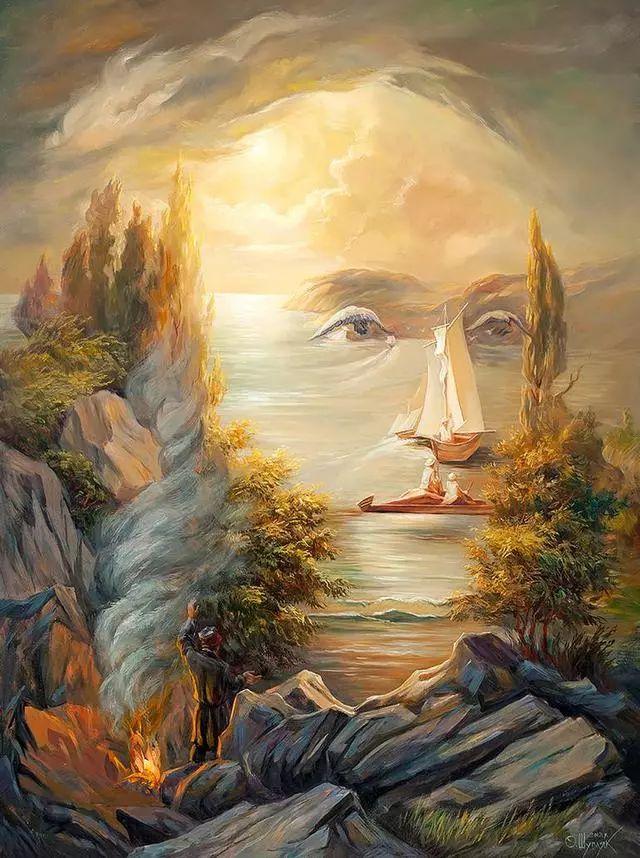 双重视错觉绘画艺术——奥列格·舒皮克作品欣赏插图3