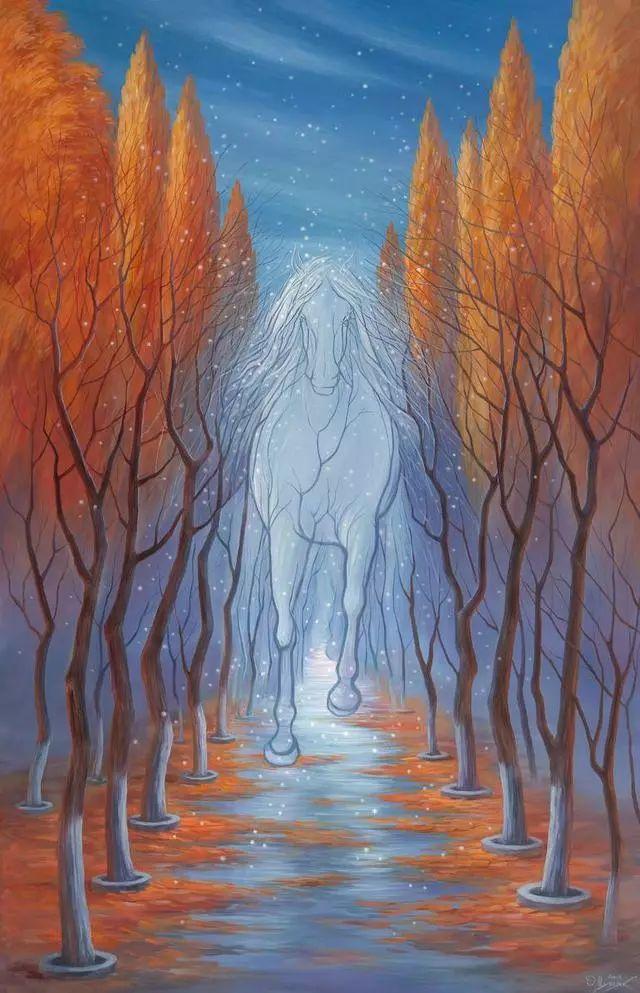 双重视错觉绘画艺术——奥列格·舒皮克作品欣赏插图11