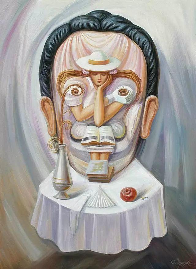 双重视错觉绘画艺术——奥列格·舒皮克作品欣赏插图19