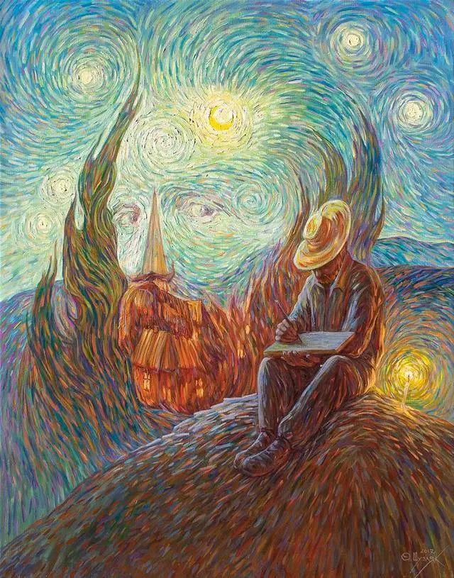 双重视错觉绘画艺术——奥列格·舒皮克作品欣赏插图23