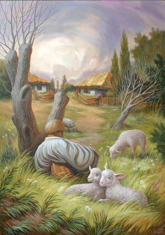 双重视错觉绘画艺术——奥列格·舒皮克作品欣赏插图33