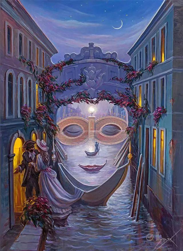 双重视错觉绘画艺术——奥列格·舒皮克作品欣赏插图37