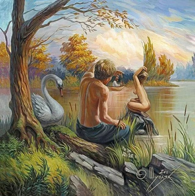 双重视错觉绘画艺术——奥列格·舒皮克作品欣赏插图43