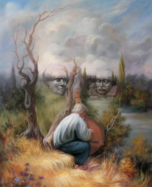 双重视错觉绘画艺术——奥列格·舒皮克作品欣赏插图49