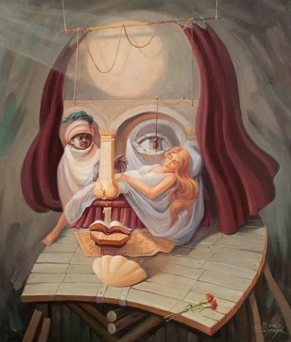 双重视错觉绘画艺术——奥列格·舒皮克作品欣赏插图55