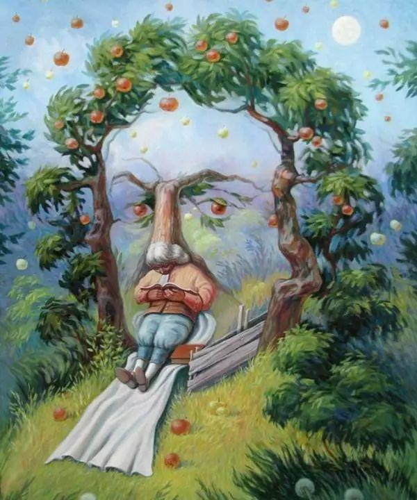 双重视错觉绘画艺术——奥列格·舒皮克作品欣赏插图61
