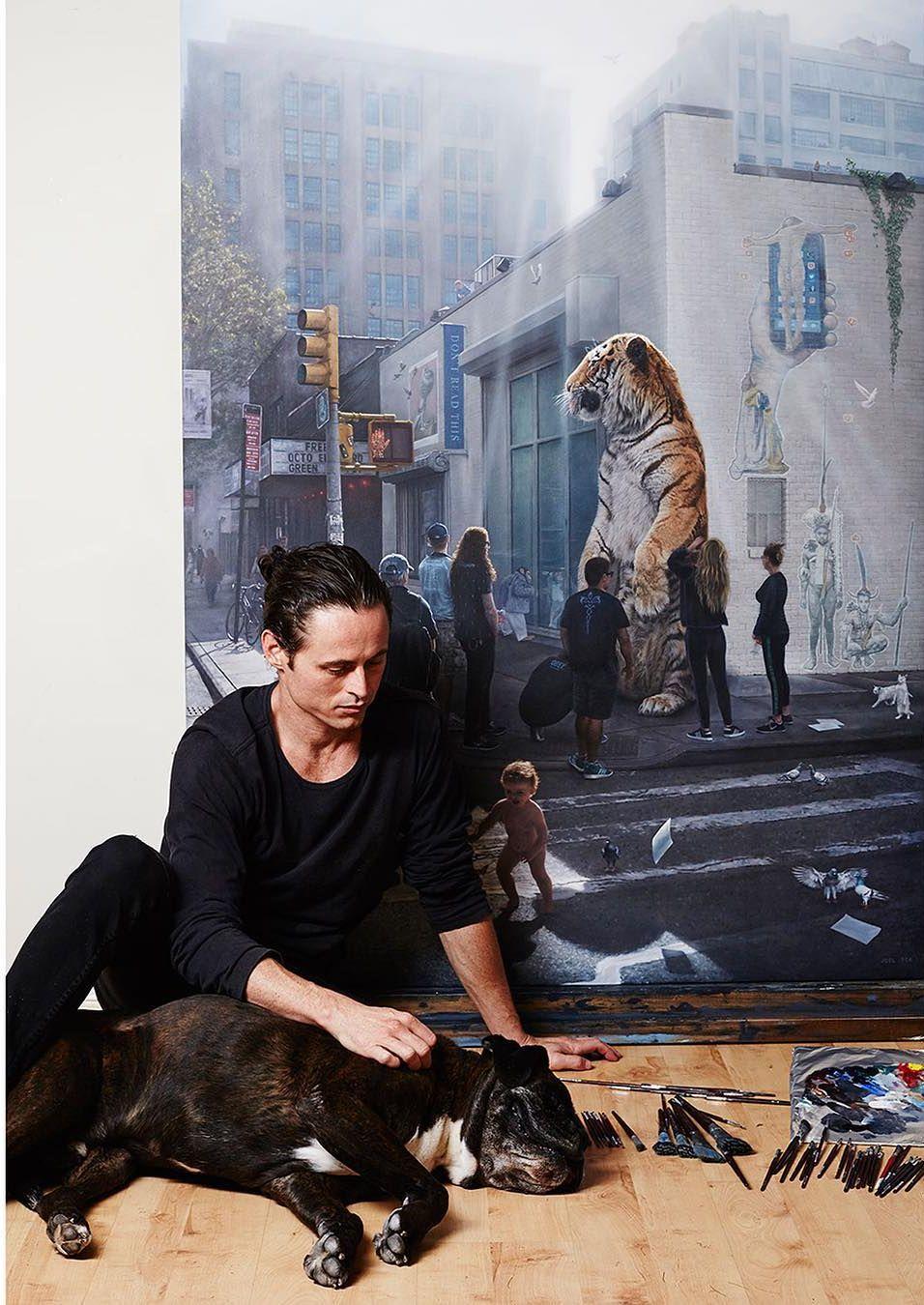他第一次举办画展,就引起了轰动, 作品都被抢购一空!插图1