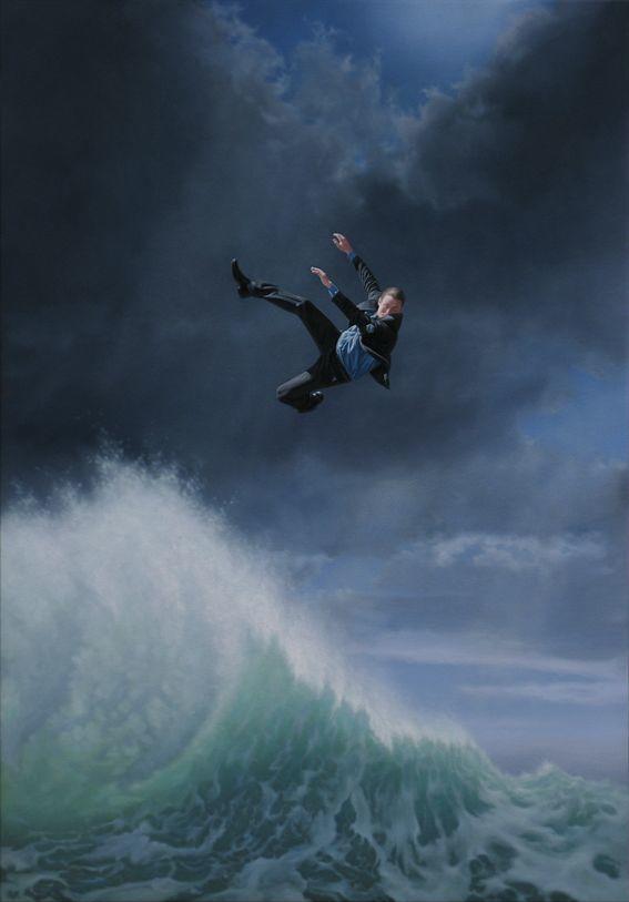他第一次举办画展,就引起了轰动, 作品都被抢购一空!插图13