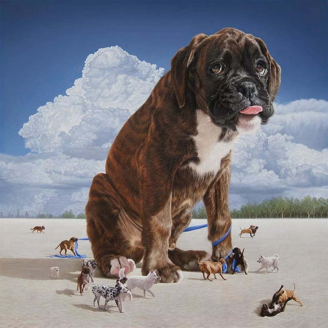 他第一次举办画展,就引起了轰动, 作品都被抢购一空!插图26