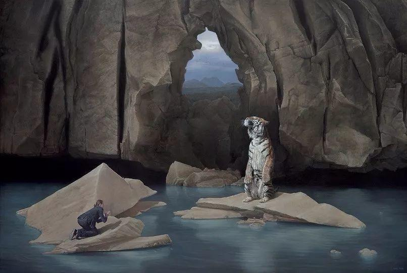 他第一次举办画展,就引起了轰动, 作品都被抢购一空!插图27