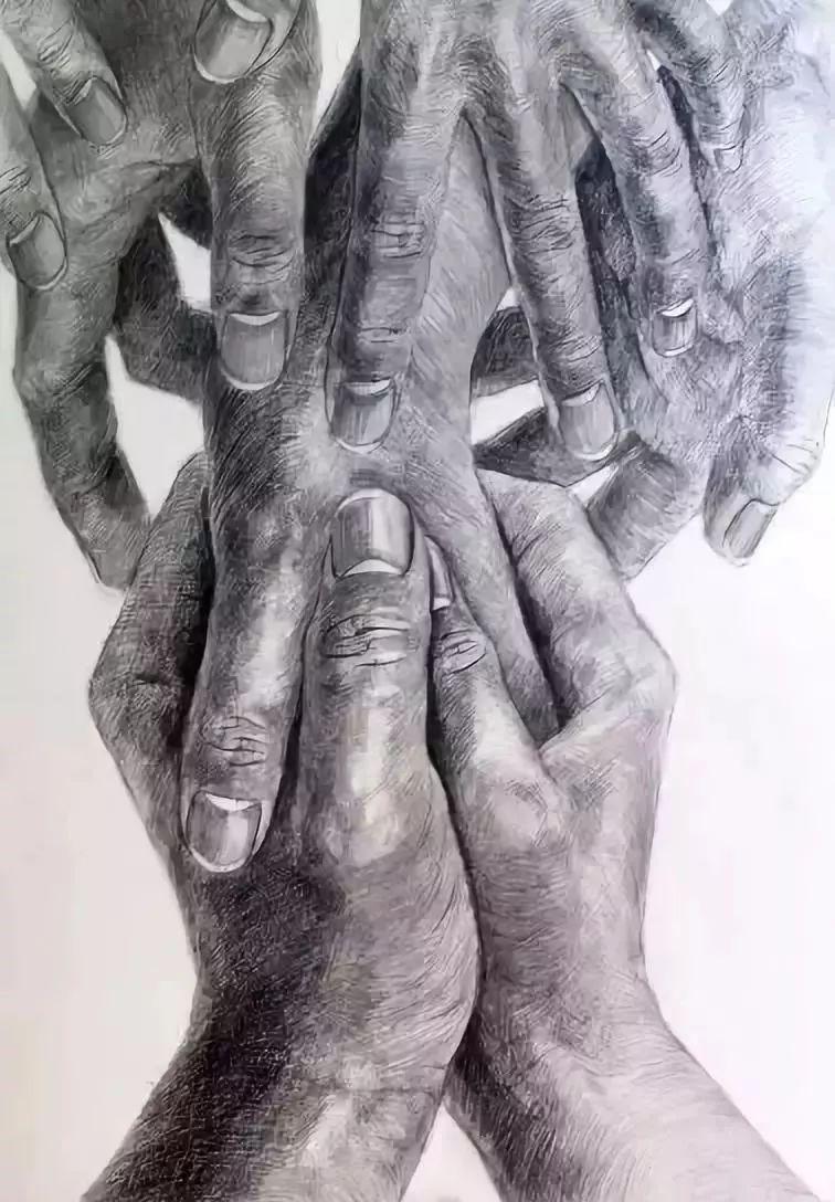 手是人的第二张脸,承载着人奋斗一生的痕迹插图110