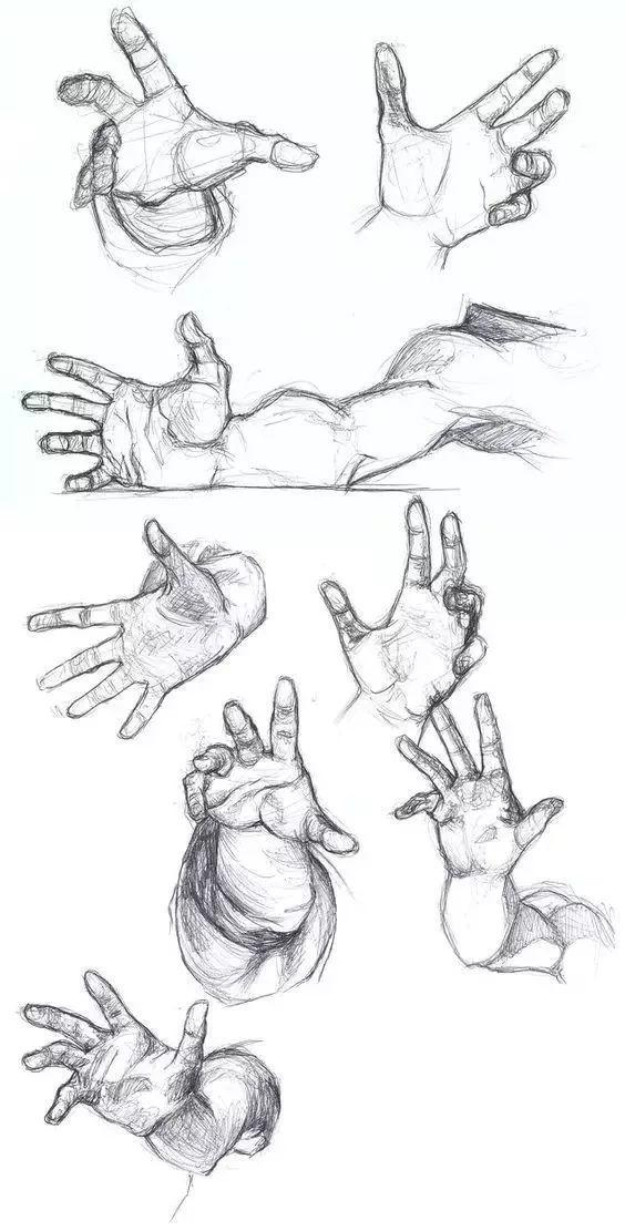 手是人的第二张脸,承载着人奋斗一生的痕迹插图135