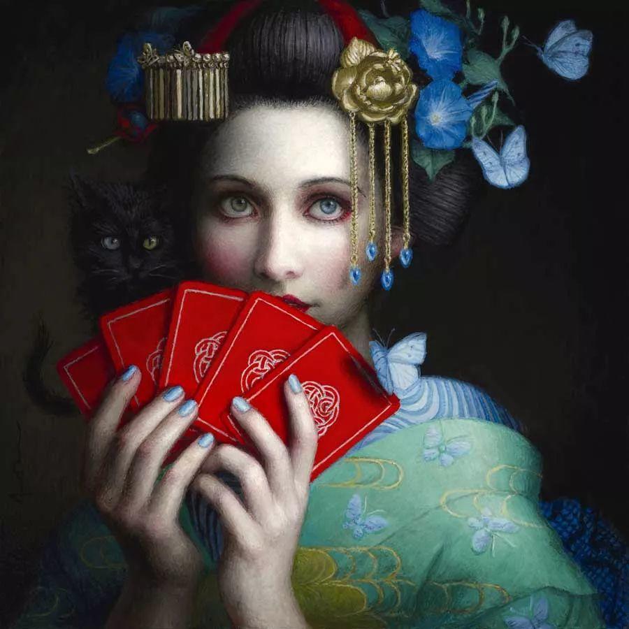 神话里神秘的女孩,神秘新奇 怀旧感性插图9