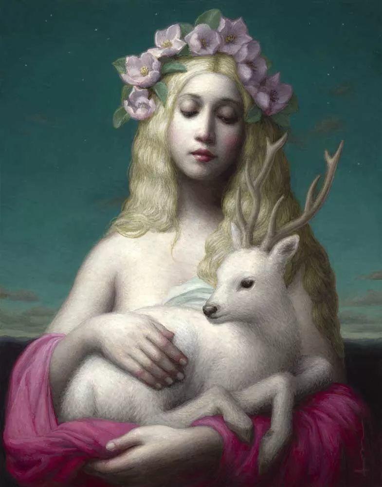神话里神秘的女孩,神秘新奇 怀旧感性插图11