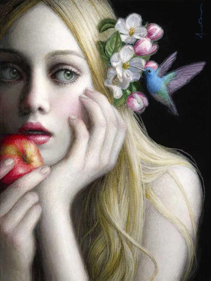 神话里神秘的女孩,神秘新奇 怀旧感性插图15