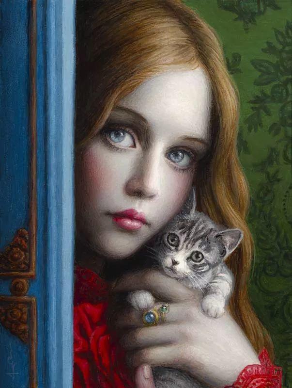 神话里神秘的女孩,神秘新奇 怀旧感性插图17