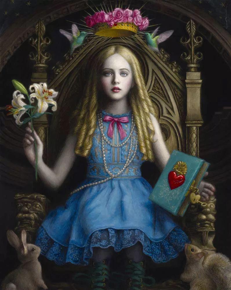 神话里神秘的女孩,神秘新奇 怀旧感性插图25