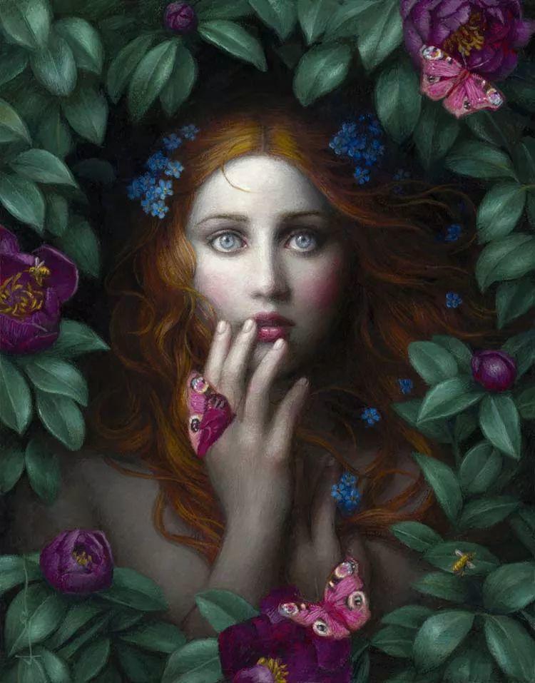 神话里神秘的女孩,神秘新奇 怀旧感性插图31
