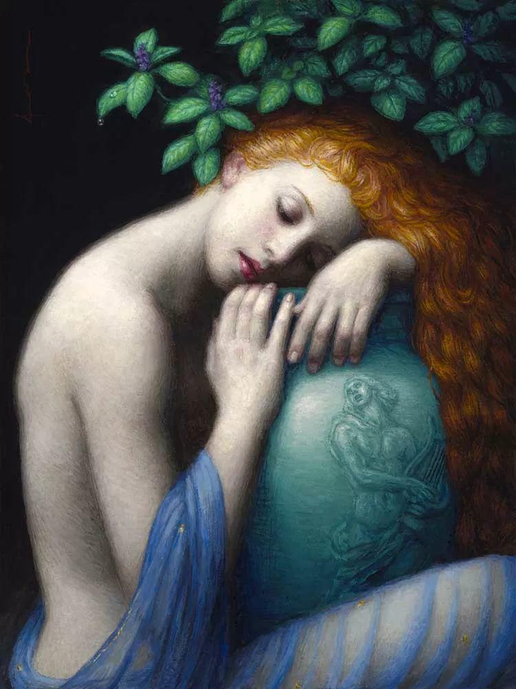 神话里神秘的女孩,神秘新奇 怀旧感性插图45
