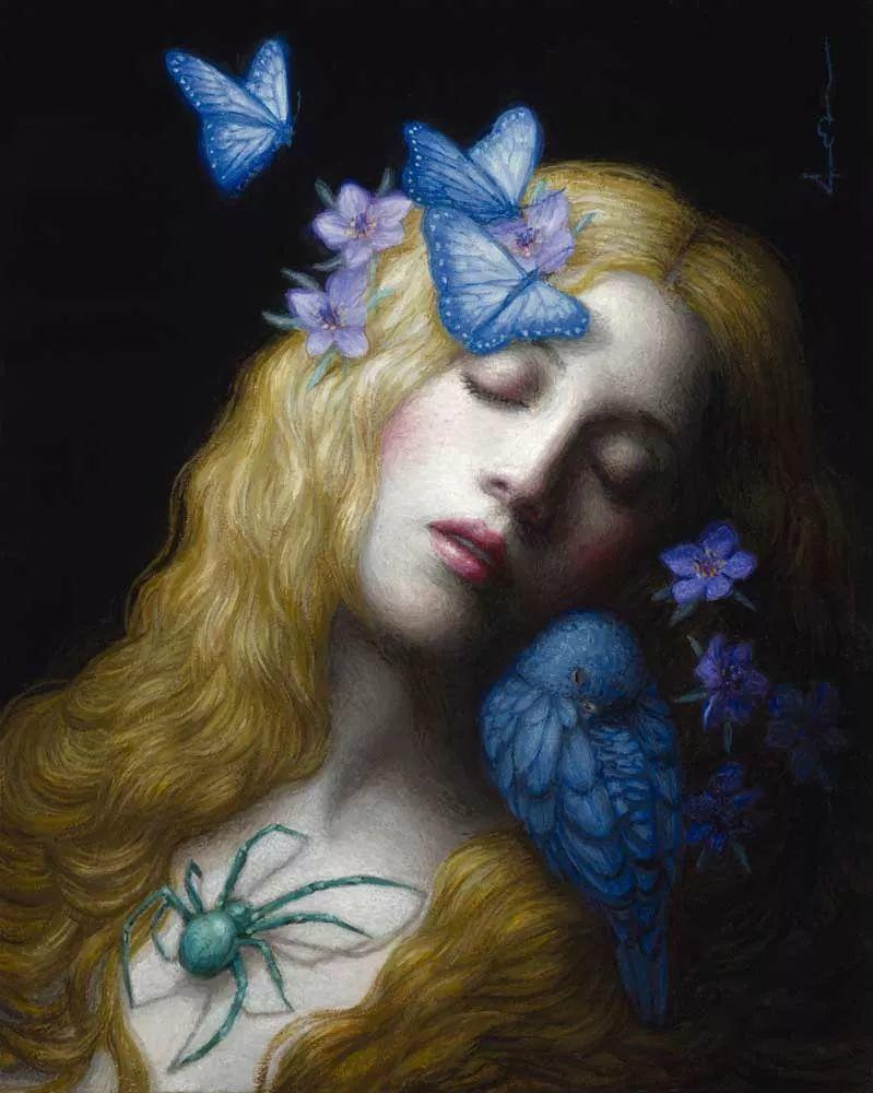 神话里神秘的女孩,神秘新奇 怀旧感性插图49