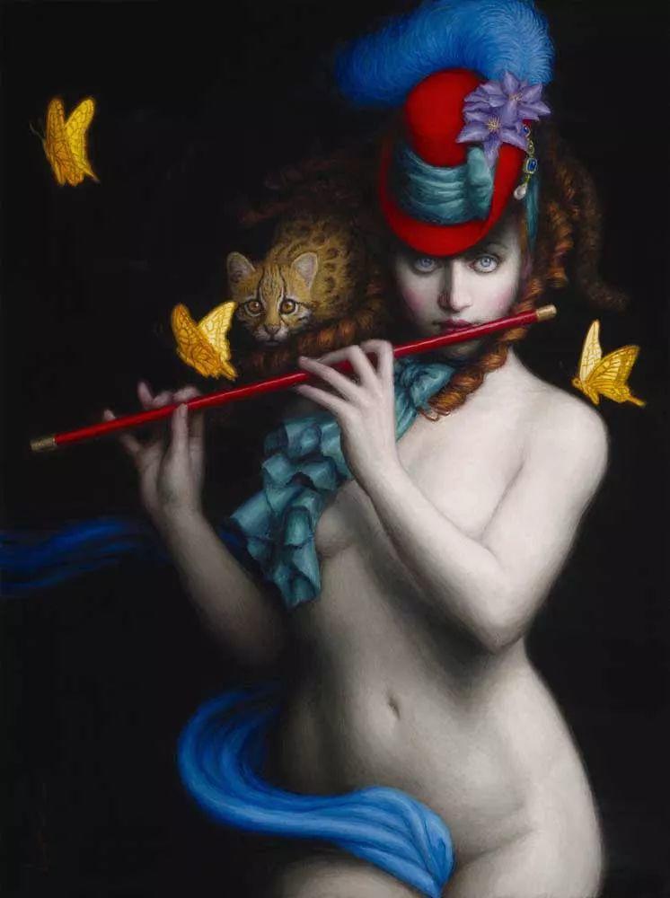 神话里神秘的女孩,神秘新奇 怀旧感性插图63