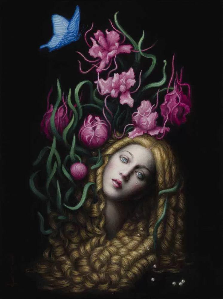 神话里神秘的女孩,神秘新奇 怀旧感性插图65